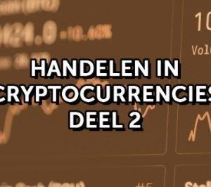 Handelen in Bitcoin en Cryptocurrencies - 2