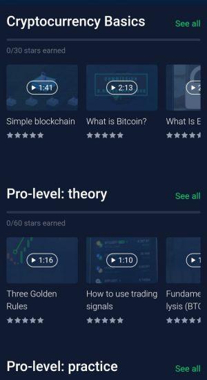 StormGain gratis opleiding crypto